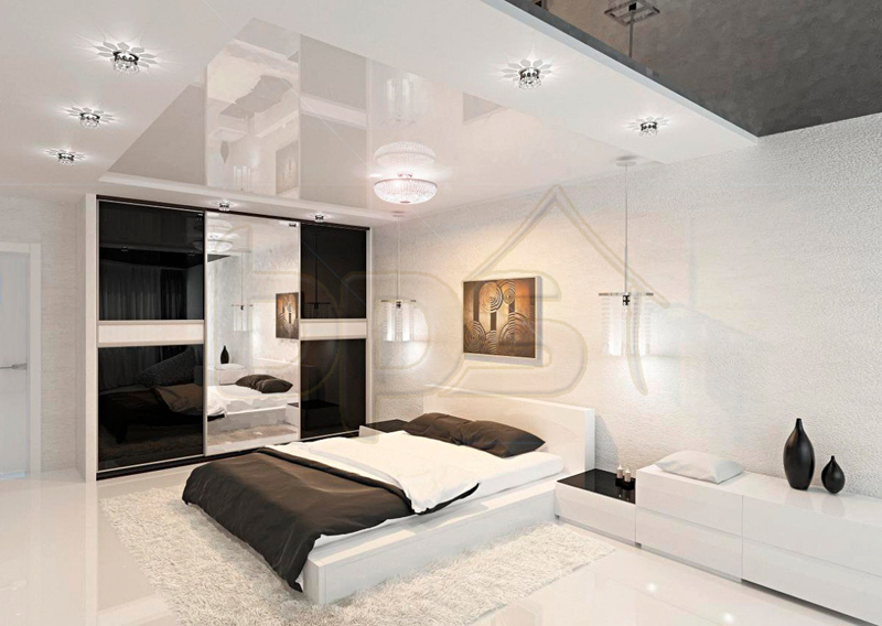 modern-black-and-white-bedroom