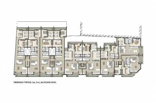 4_PROPOSED_TYPICAL 1st, 2nd, 3rd FLOOR LEVEL
